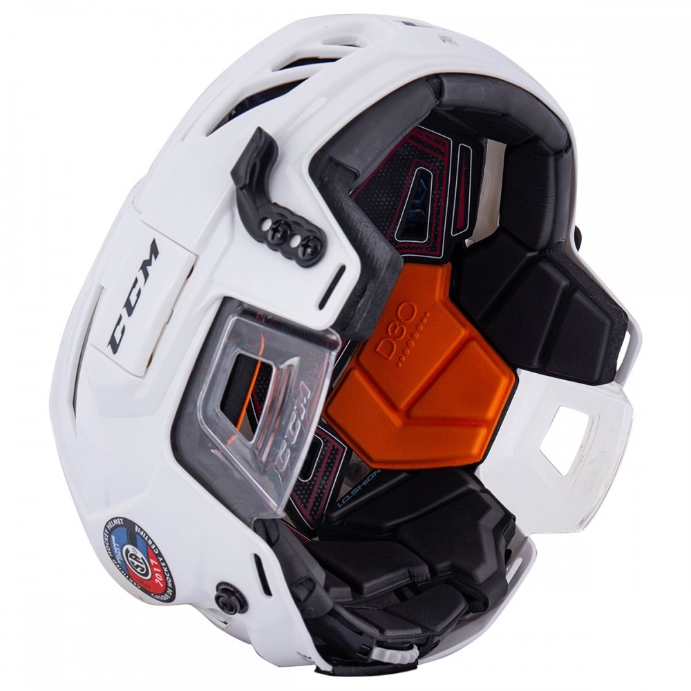 Helma CCM Fitlite 90 Combo SR, bílá, Senior, L, 57-62cm